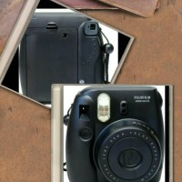 Fujifilm Instax Camera Mini 8 8S Black Hitam