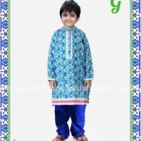 Baju Muslim Anak BPPSE-14F-I  Pakaian Anak Laki-Laki Murah Baju Gamis