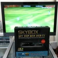 SET TOP BOX SKYBOX DVBT2 TV DIGITAL INDONESIA