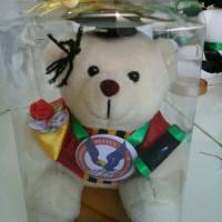 Boneka wisuda 12cm UPH Lengkap