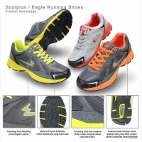 Sepatu Lari / Running / Fitnes Eagle Scorpion