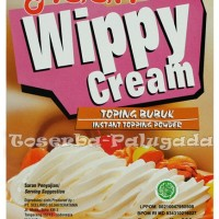 Wippy Cream/ Whipped Cream/ Instant Topping Powder/Whip/Haan/Whippy