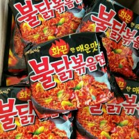 MIE INSTANT Korean Hot Spicy SAMYANG BULDAKBOKEUM Ramen Instant Noodle
