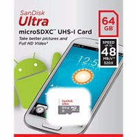 Micro SD SanDisk 64GB Ultra Class10 | SDHC Memory Card Class 10 64 GB