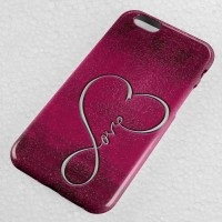 Infinity Love Pink apple iPhone Case & All Case HP