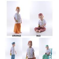 Paket Koko Sarung Peci Instan Anak By Orange