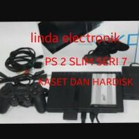 harga Ps 2 Slim Seri 7 Kaset Dan Hardisk 60gb Tokopedia.com