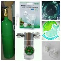 Aquascape - Paket Tabung Co2 2kg Precise 3in1 Diffuser