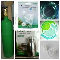 Aquascape - Paket Tabung Co2 2kg Simple Ista 3in1 Diffuser