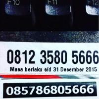 harga 805 666 NOMOR PASANGAN COUPEL BOS CANTIK RAPIH MINIMALIS Tokopedia.com