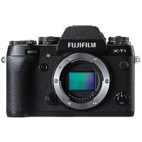 FUJIFILM XT1 X-T1 BODY ONLY BLACK _ Free SDHC 16GB XT1 X-T1