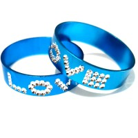 Cincin Couple Biru - Aksesoris Perhiasan Murah