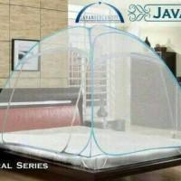Javan Bed Canopy Natural Single Size untuk Ranjang 120 x 200