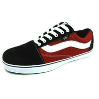 Sepatu Kets Vans Oldskool Merah / Vans Old Skool Cowok