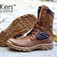 harga sepatu kickers delta boots pria, adventure, bikers, gaya Tokopedia.com