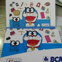 kartu flazz doraemon bca bkn batman joker bs gojek