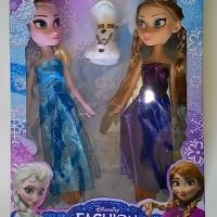 harga TERBARU - Sepasang Boneka Cantik FROZEN (Elsa Dan Anna) Tokopedia.com