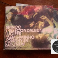 SHINee THE SECOND ALBUM - LUCIFER + POSTER & BONUS TAC PHOTOBOOK