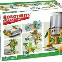 Jual Mainan Edukasi 6 In 1 Solar Robot Recycler. Murah