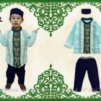 Setelan Baju Muslim Anak Laki-laki Import Lil' Kids 93 Kode L