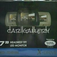 Headrest monitor mobil Livina/Vios/Yaris/Ertiga