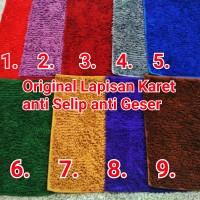 Keset / Karpet Karet lantai multiguna untuk kamar mandi micro fiber