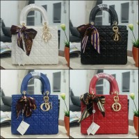 Tas Lady Dior Doff 25cm Bag Semi Super Quality