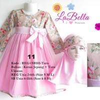 harga Baju Gamis Anak Labella tutu 2-6 tahun Tokopedia.com