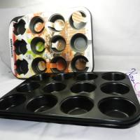 harga Loyang Cupcake / Muffin Pan 12 Hole Tokopedia.com