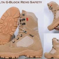 sepatu zimzam delta safety lapangan kerja dinas tracking boot