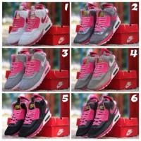 harga Sepatu Nike Airmax 90 High Women Tokopedia.com