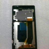 Lcd + Touchscreen + Frame Fullset Sony Xperia Z C6602 / C6603 PUTIH