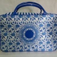 Jual Travel bag/tas travel koper kanvas motif batik Murah