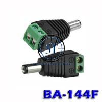 BA-144F Jack DC Male Baut Kabel CCTV