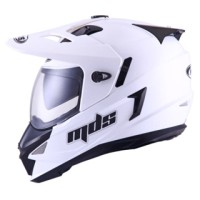 harga MDS SUPER PRO SUPERMOTO WHITE PUTIH HELM FULL FACE DOUBLE VISOR M L XL Tokopedia.com