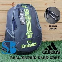 harga Tas Ransel Real Madrid Grey Tokopedia.com