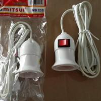 harga Fiting lampu kabel gantung Mitsui + Saklar MB-235 Tokopedia.com
