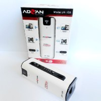 harga Advan JR-109 GSM Mini WiFi Modem Router with Powerbank - Putih Blibli.com