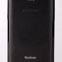 Samsung Galaxy Note II 2 N7100 Protective Case Hitam + LCD protector