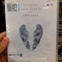 CD+DVD COLDPLAY - GHOST STORIES LIVE 2014 IMPORTED U.K.