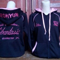 SNSD PHANTASIA 4TH WORLD TOUR JACKET jaket hoodie hoody zipper gg yuri