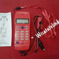 Test phone/Cable Tester Type NF-866/FO Tool Check Phone-DTMF
