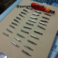 harga Obeng Set 31 In 1 Minus Plus Bintang Iphone Bongkar Pasang Handpone Hp Tokopedia.com