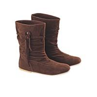 harga Sepatu Boots Blackkelly LDG 162 Cokelat Wanita - Boot Cewek PU-PVC Tokopedia.com