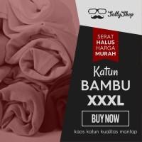 Jual Kaos Polos Katun Bambu (Cotton Bamboo) XXXL Murah