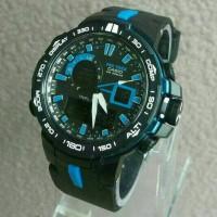 Jam Tangan Pria G-shock PRG-6000 Black Blue Kw Super
