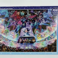 Jigsaw Puzzle Tenyo : Disney Water Dream Concert - 2000 pieces