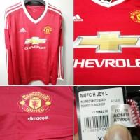 jersey adidas original Manchester united H 2015/16 LS original bnwt