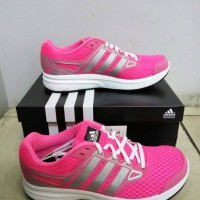 Adidas Running Galactic Elite W (cewek) Pinky Sepatu Original Bnib