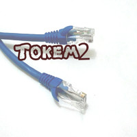 harga KABEL LAN ( UTP PATCH CORD CAT-6 ) NETWORK 30 mtr HIGH QUALITY Tokopedia.com